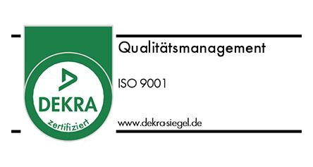 DEKRA Qualitätsmanagement Siegel